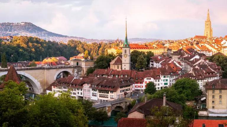 Bern city's view