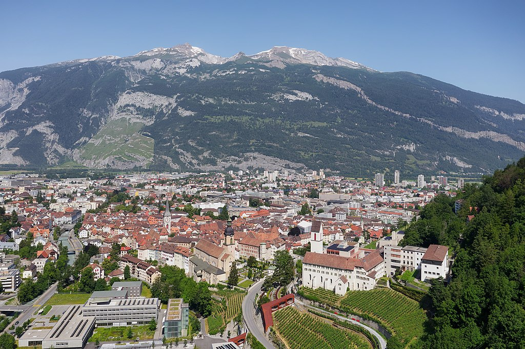 Chur city's view