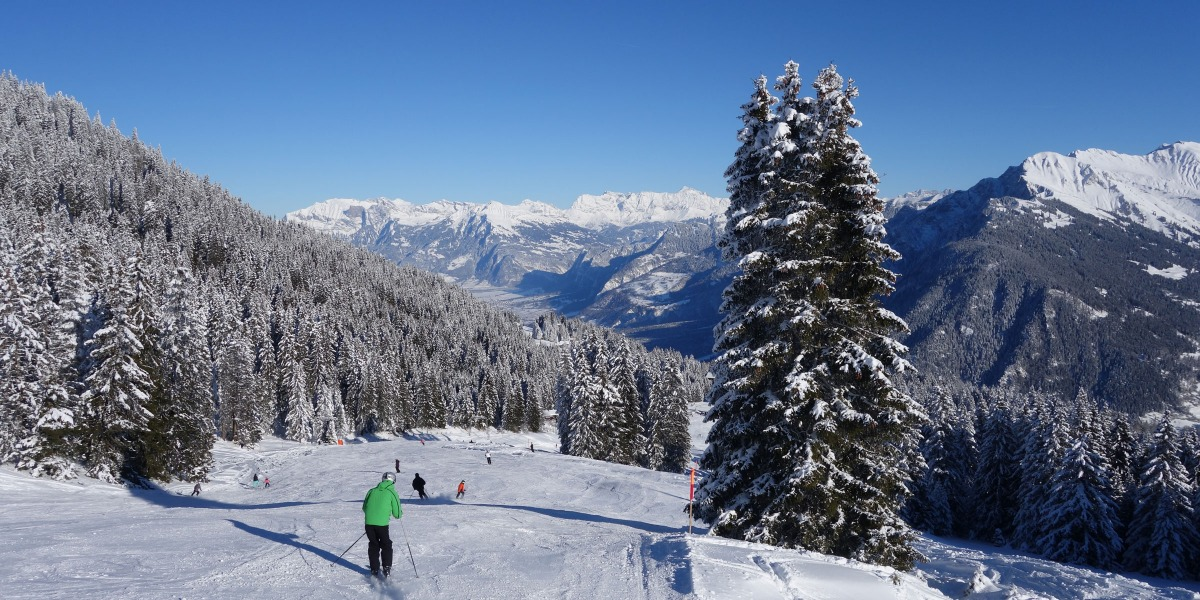 Chur skiing area