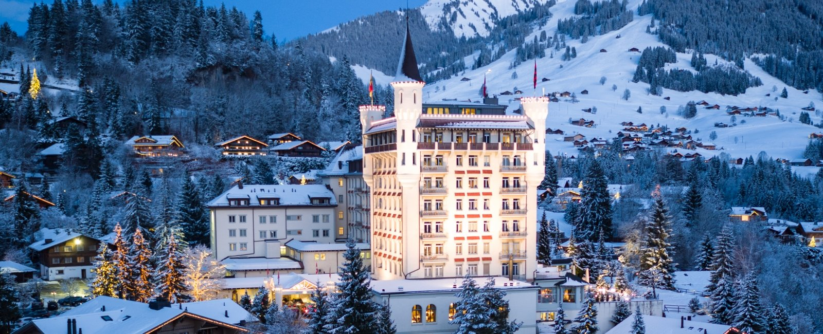 Gstaad mountain view