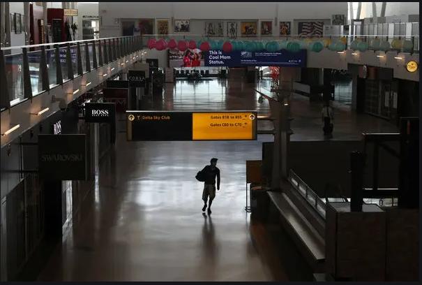 empty airport photo