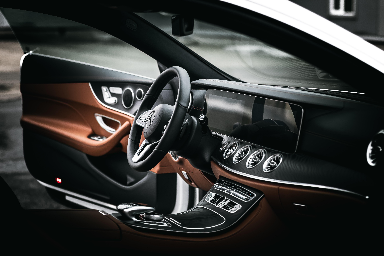 picture of interior mercedes vehicle luxury