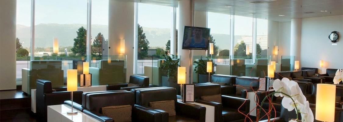lounge vip Genève fauteuils